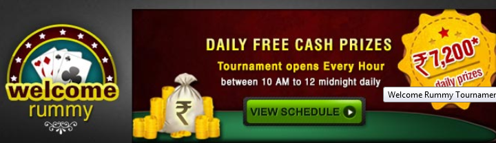 Click Here to Join WelCome Rummy Tournament