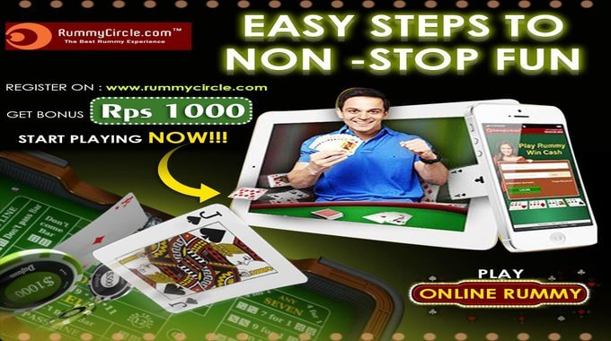 Get rs 1000 as Welcome Bonus @ RummyCircle
