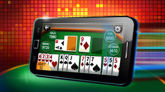 Rummy on mobile