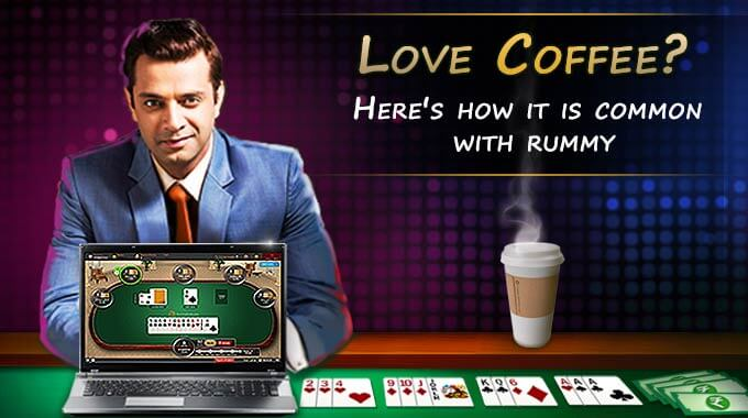 rummy with coffee