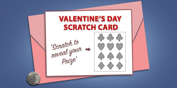 Make scratch cards
