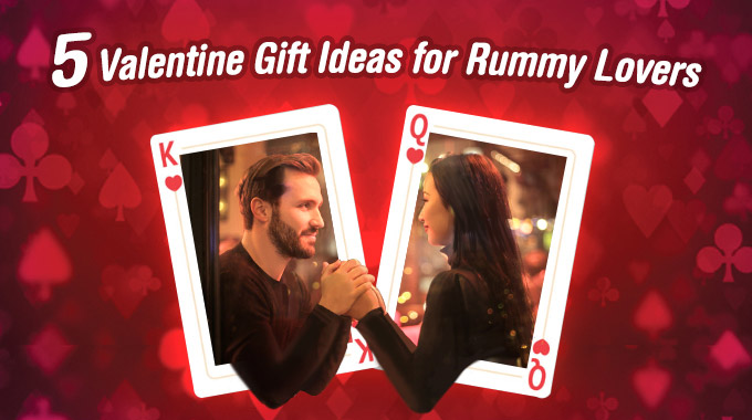 Valentine Gift for Rummy Lovers