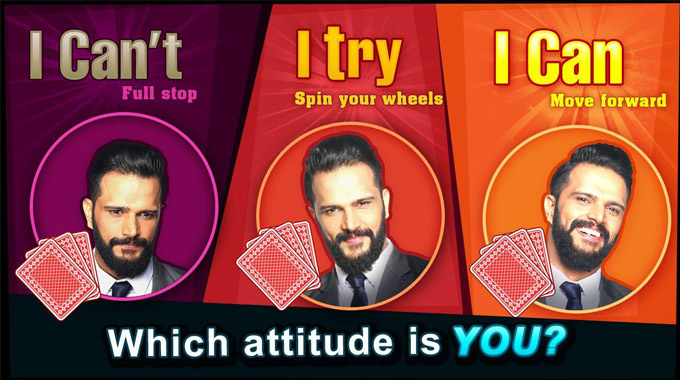 attitude that matters in rummy