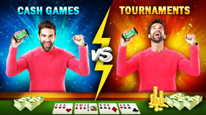 cash vs tournaments in rummy