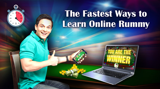 Fastest Ways to Learn Online Rummy