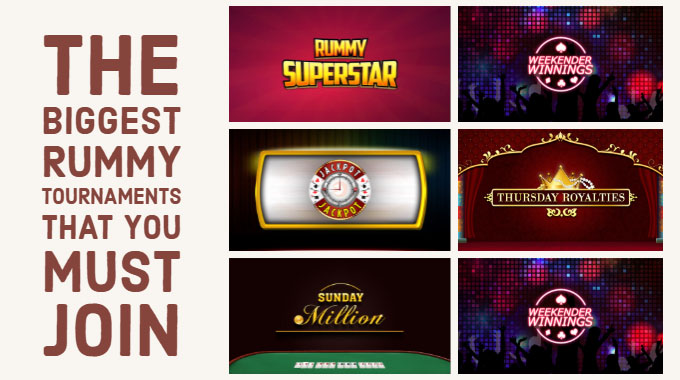 The Biggest Rummy Tournaments That You Must Join