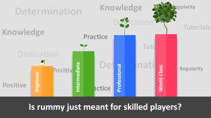 Is Rummy Just Meant For Skilled Players