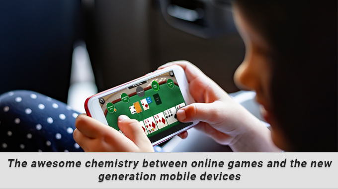 Chemistry Between Online Games And New Generation Mobile
