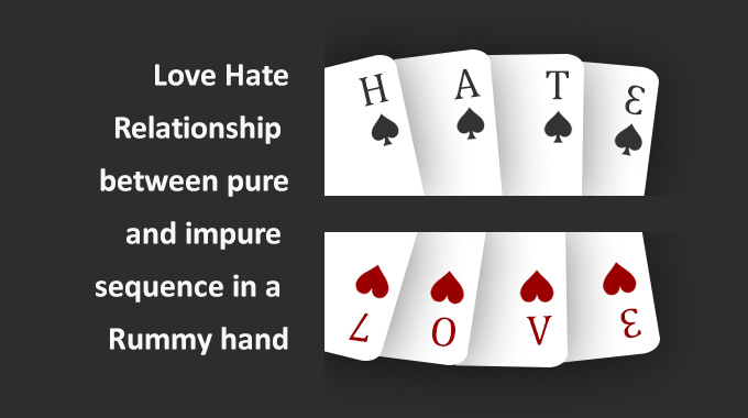 Love-hate Between Pure And Impure Sequences