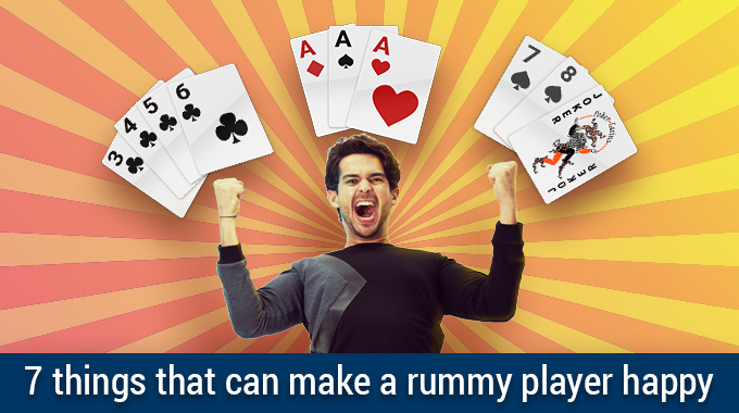 7 Things that can make a rummy player happy