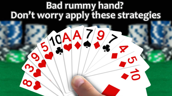 Bad Rummy Hand Strategies
