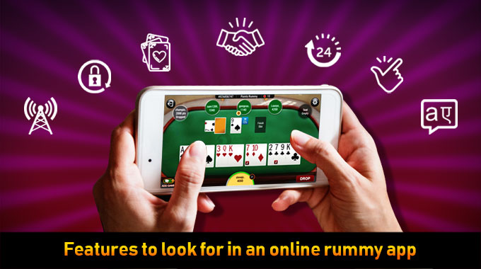 Features To Look For In An Online Rummy App