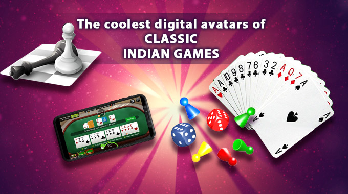 The Coolest Digital Avatars Of Classic Indian Games