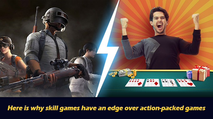 Here Is Why Skill Games Have An Edge Over Action-Packed Games