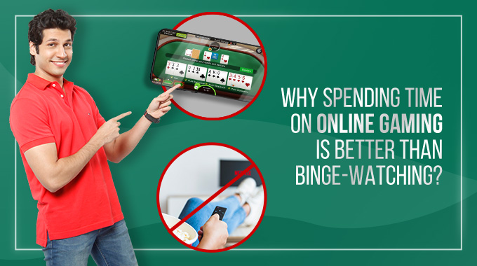 Why Spending Time On Online Gaming Is Better Than Binge Watching