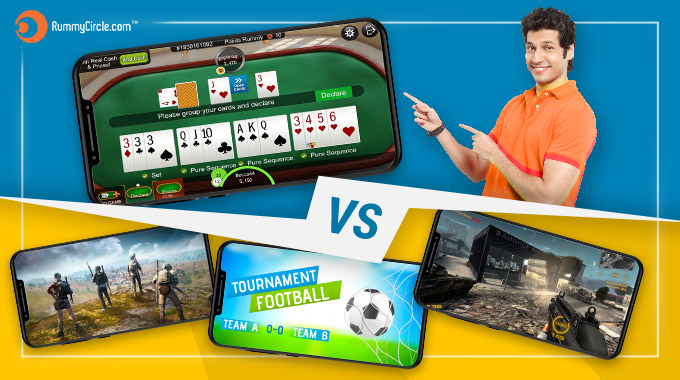 Online Rummy vs Other Mobile Games: Which Is Better?