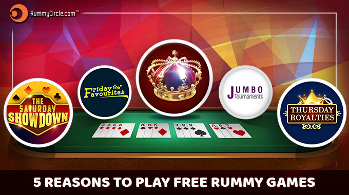5 Reasons To Play Free Rummy Games