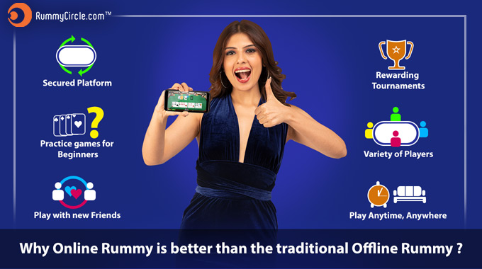 Why Online Rummy Is Better Than The Traditional 'Offline' Rummy